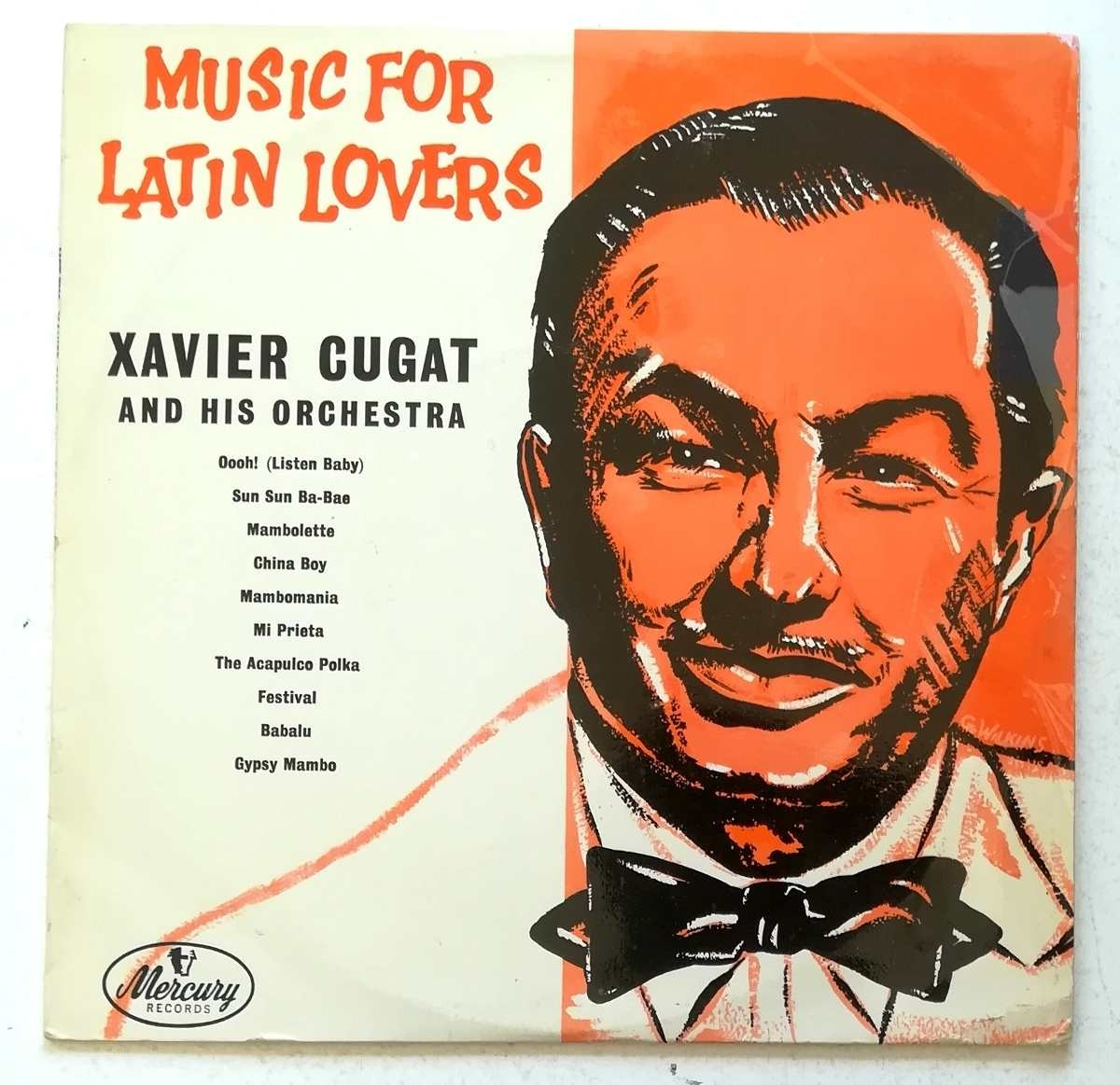 Cugat Xavier His Orchestra - Music For Latin Lovers
