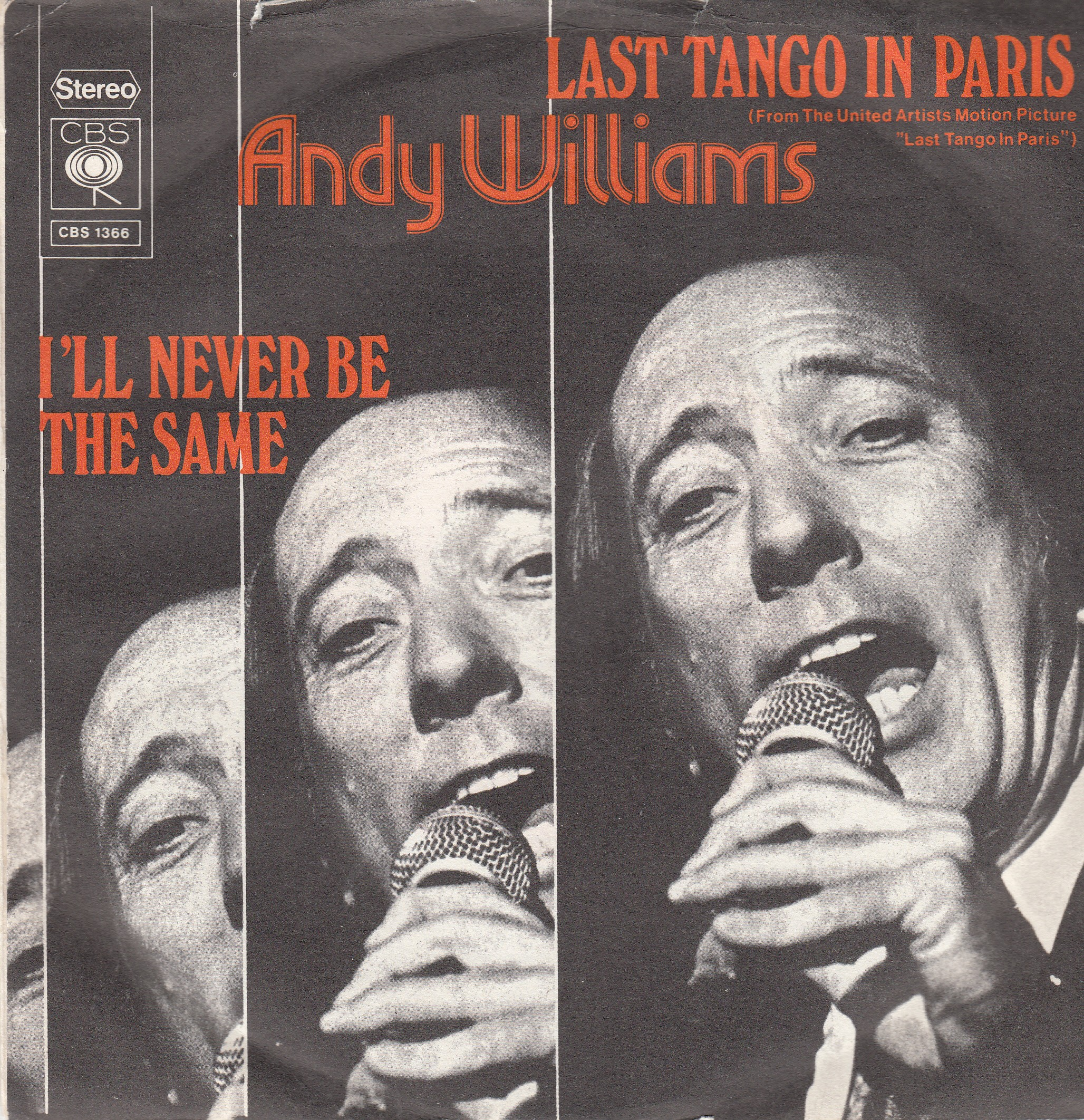Williams Andy - Last Tango In Paris/ill Never Be The Same