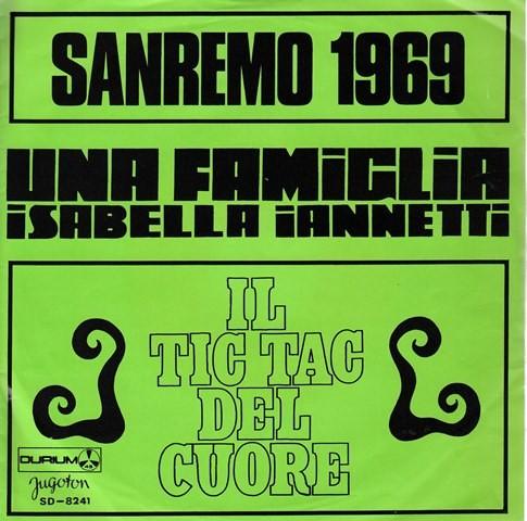 Iannetti Isabella - Una Famiglia/il Tic Tac Del Cuore
