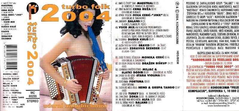 Various Artists - Turbo Folk 2004
