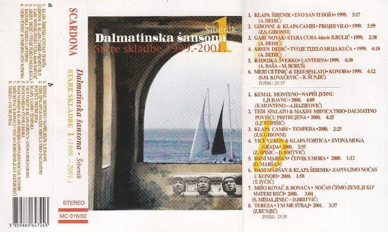 Various Artists - Dalmatinska Šansona-Šibenik - Stare Skladbe 1999-2001