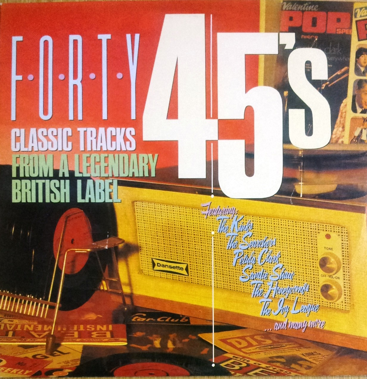 Various Artists - Forty 45s - Classic Tracks From A Legendary British Label Kinks/searchers Etc