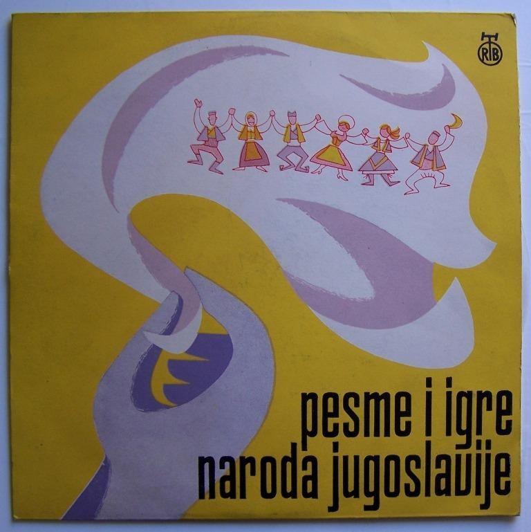 Various Artists - Pesme I Igre Naroda Jugoslavije Danica Obrenic Safet Isovic Etc