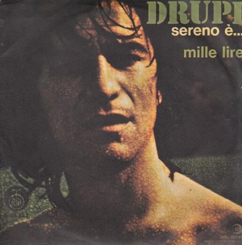 Drupi - Sereno E/mille Lire