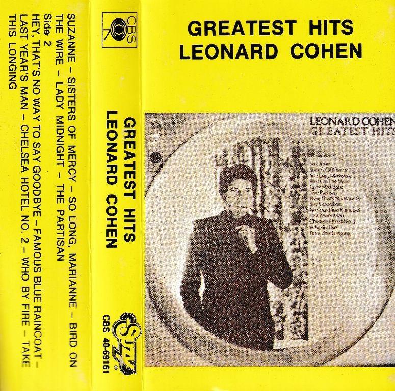 Cohen Leonard - Greatest Hits