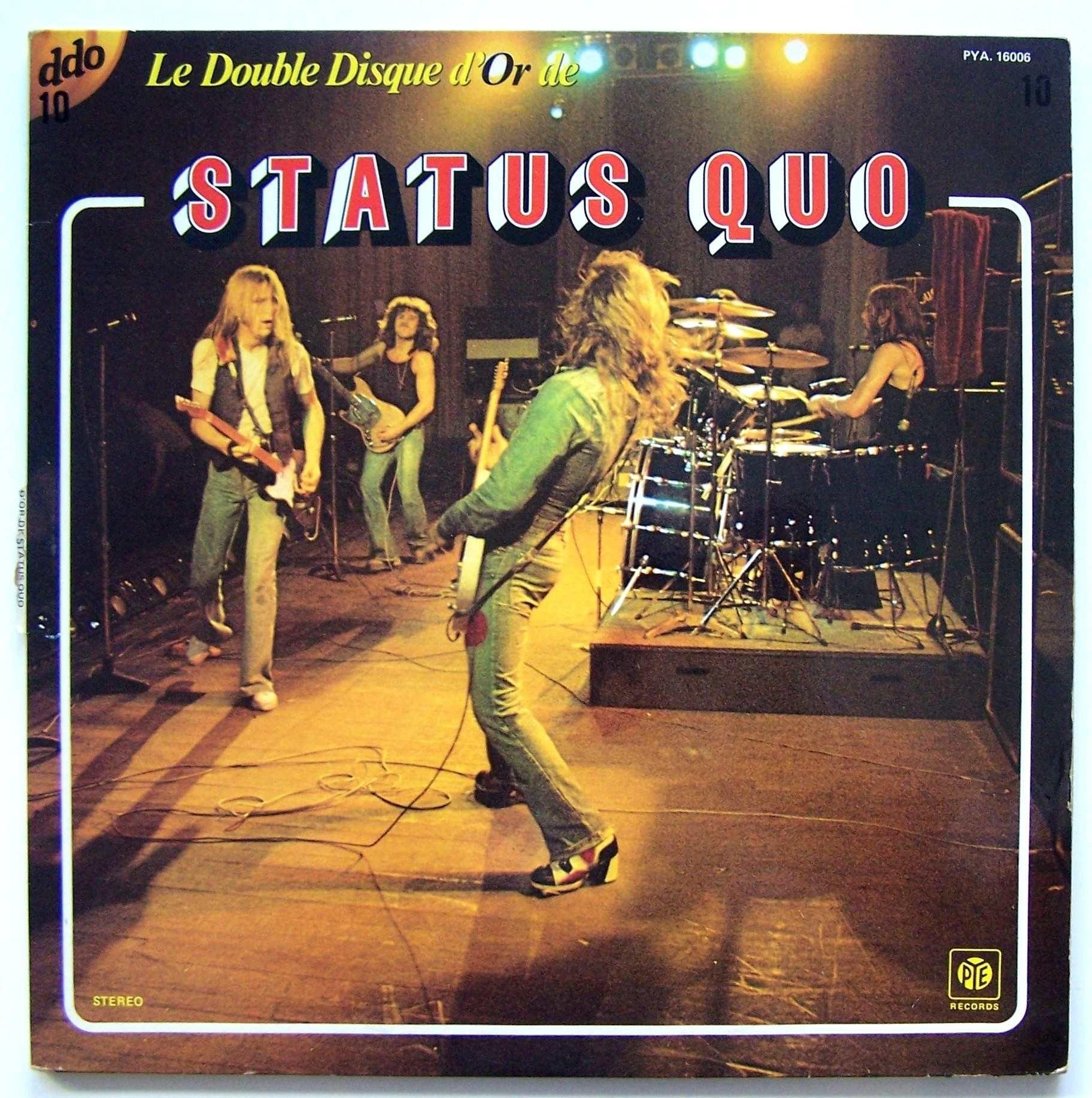 Status Quo - Le Double Disque Dor De Status Quo
