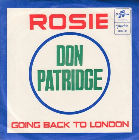 Partridge Don - Rosie/going Back To London