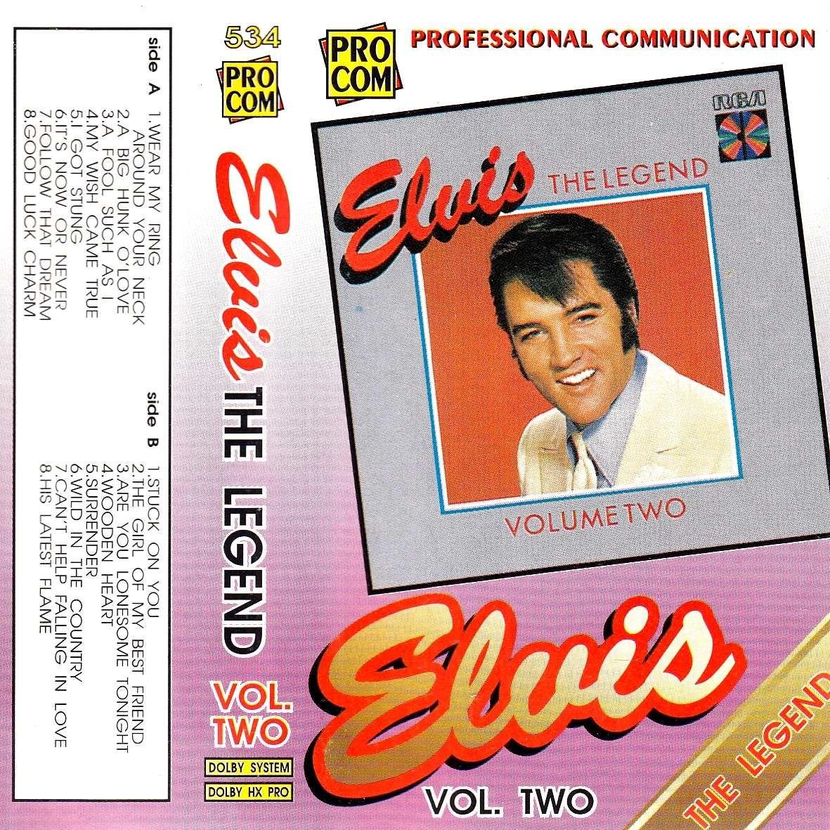 Presley Elvis - The Legend Vol Two