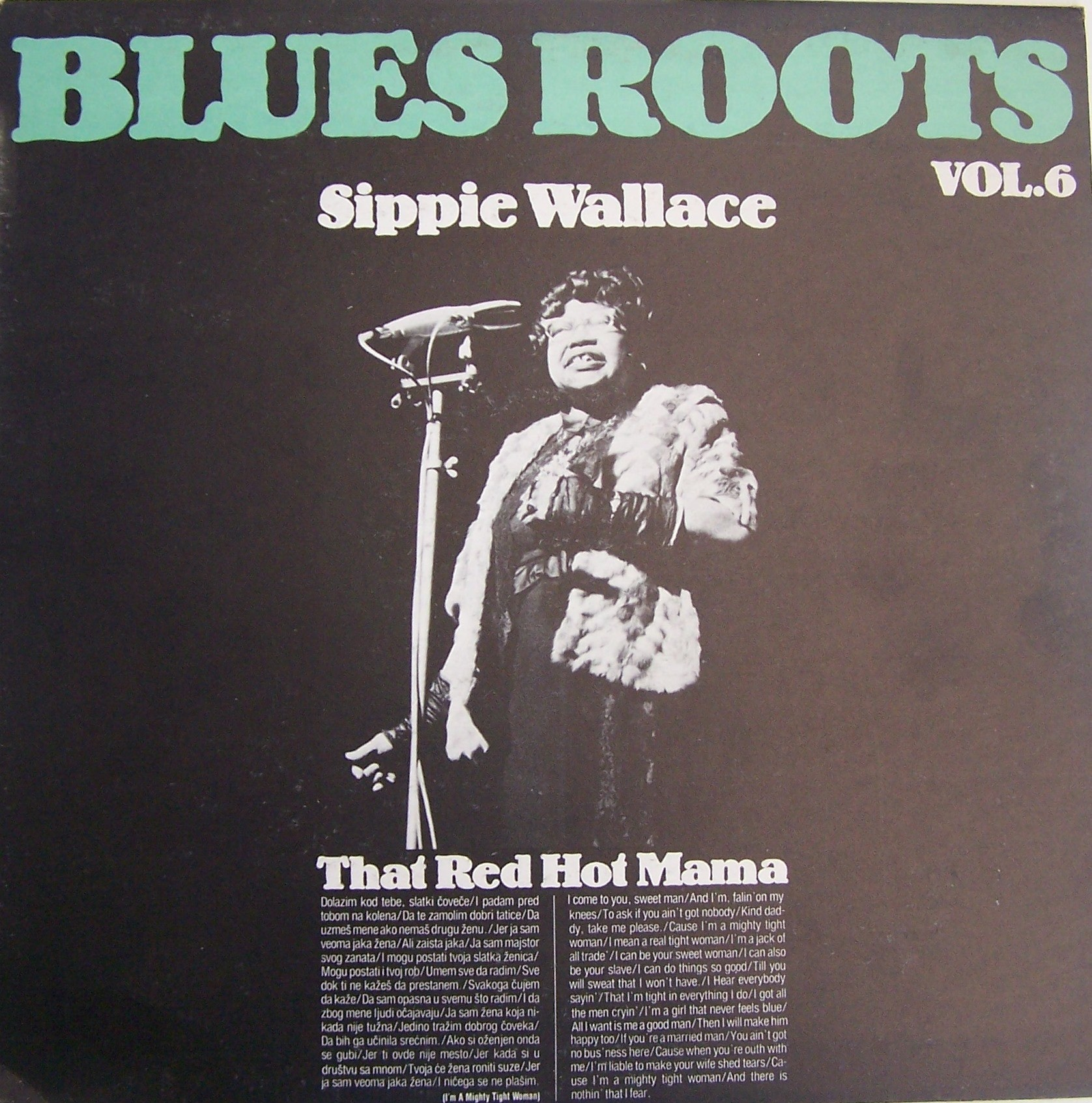 Wallace Sippie - Blues Roots Vol 6 - That Red Hot Mama
