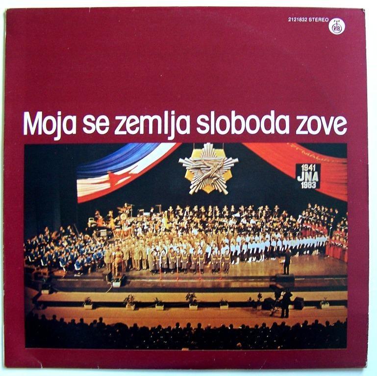 Various Artists - Moja Se Zemlja Sloboda Zove Dubravka Zubovic Spektar Zarko Dancuo Etc