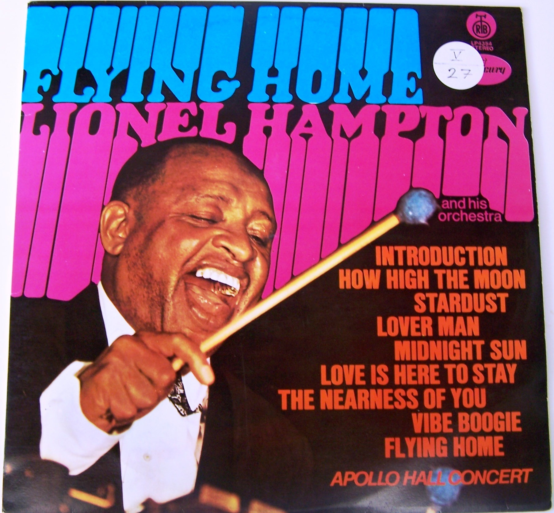 Hampton Lionel - Flying Home - Apollo Hall Concert