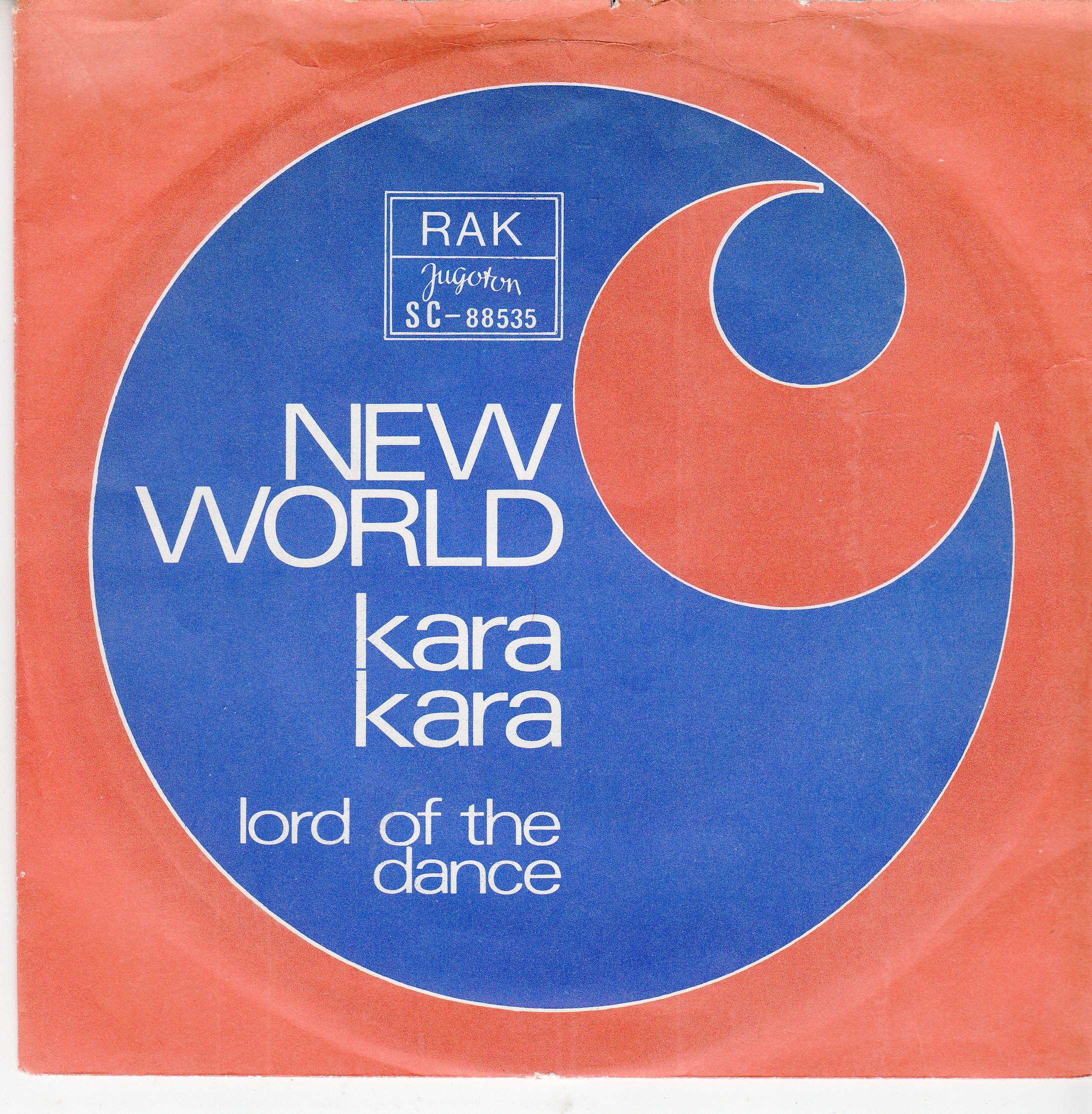 New World - Kara Kara/lord Of The Dance