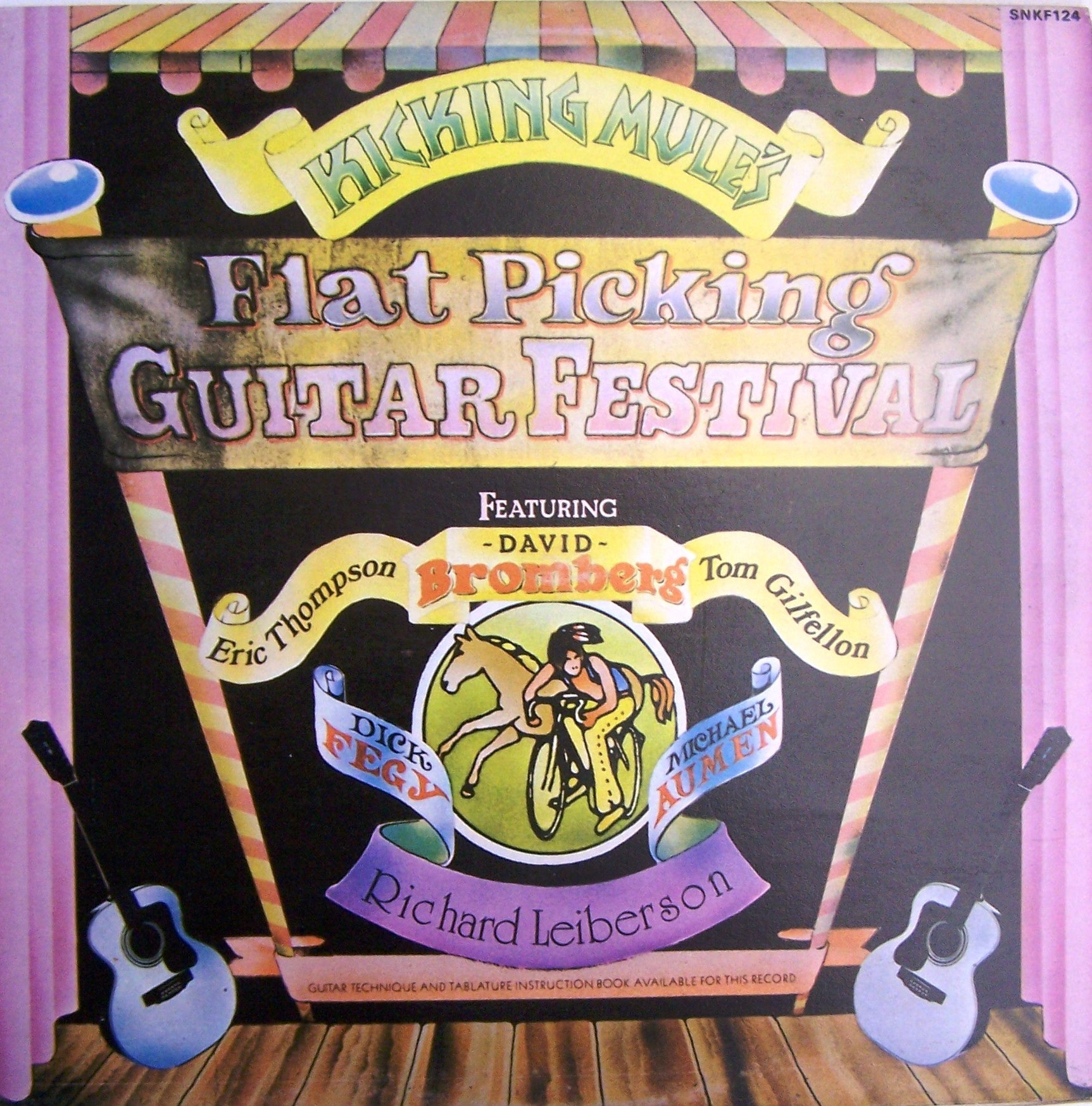 Various Artists - Kicking Mules Flat Picking Guitar Festival Ethompson/dbromberg/tgilfellon Etc