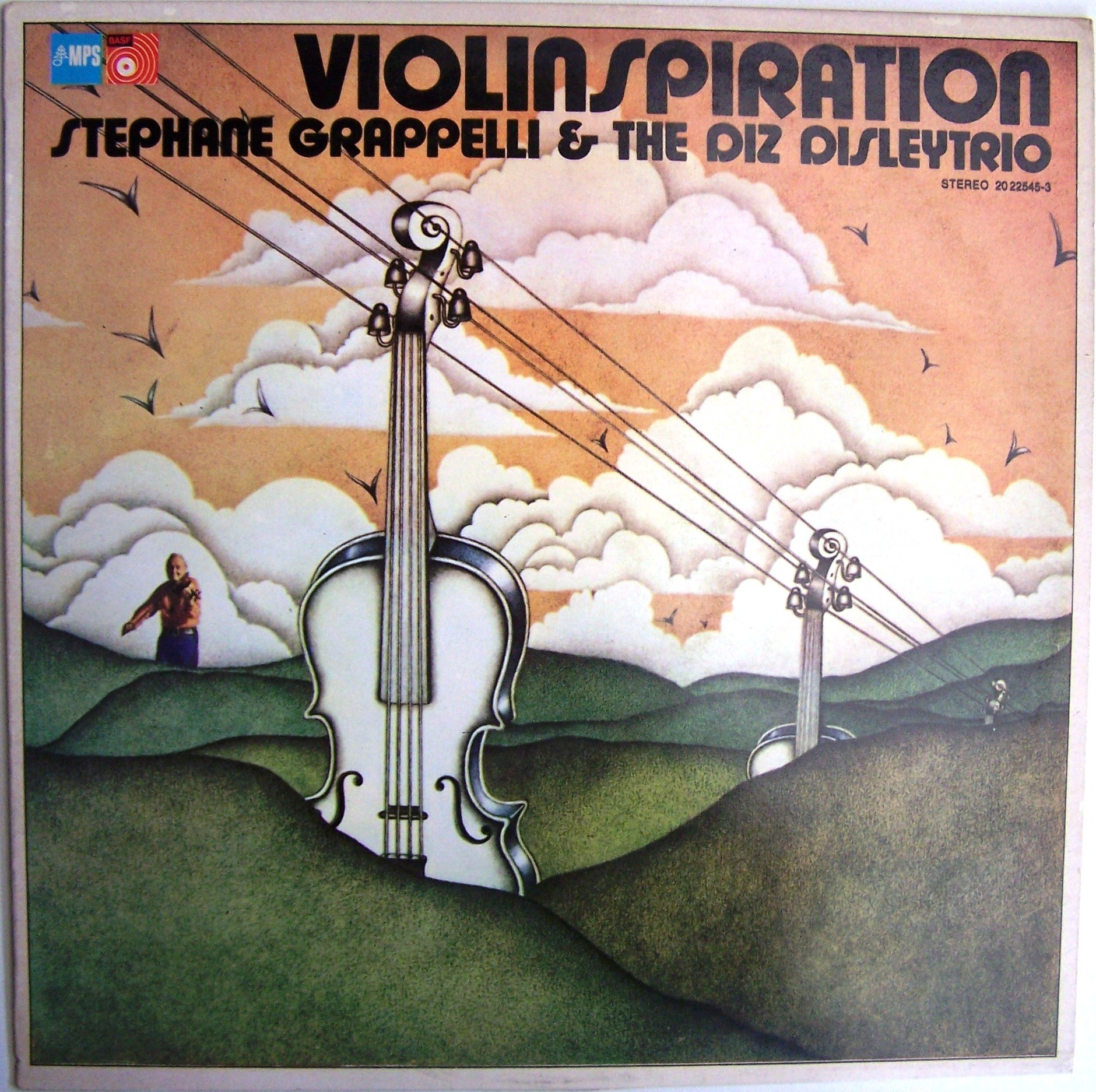 Grappelli Stephane The Diz Disleytrio - Violinspiration
