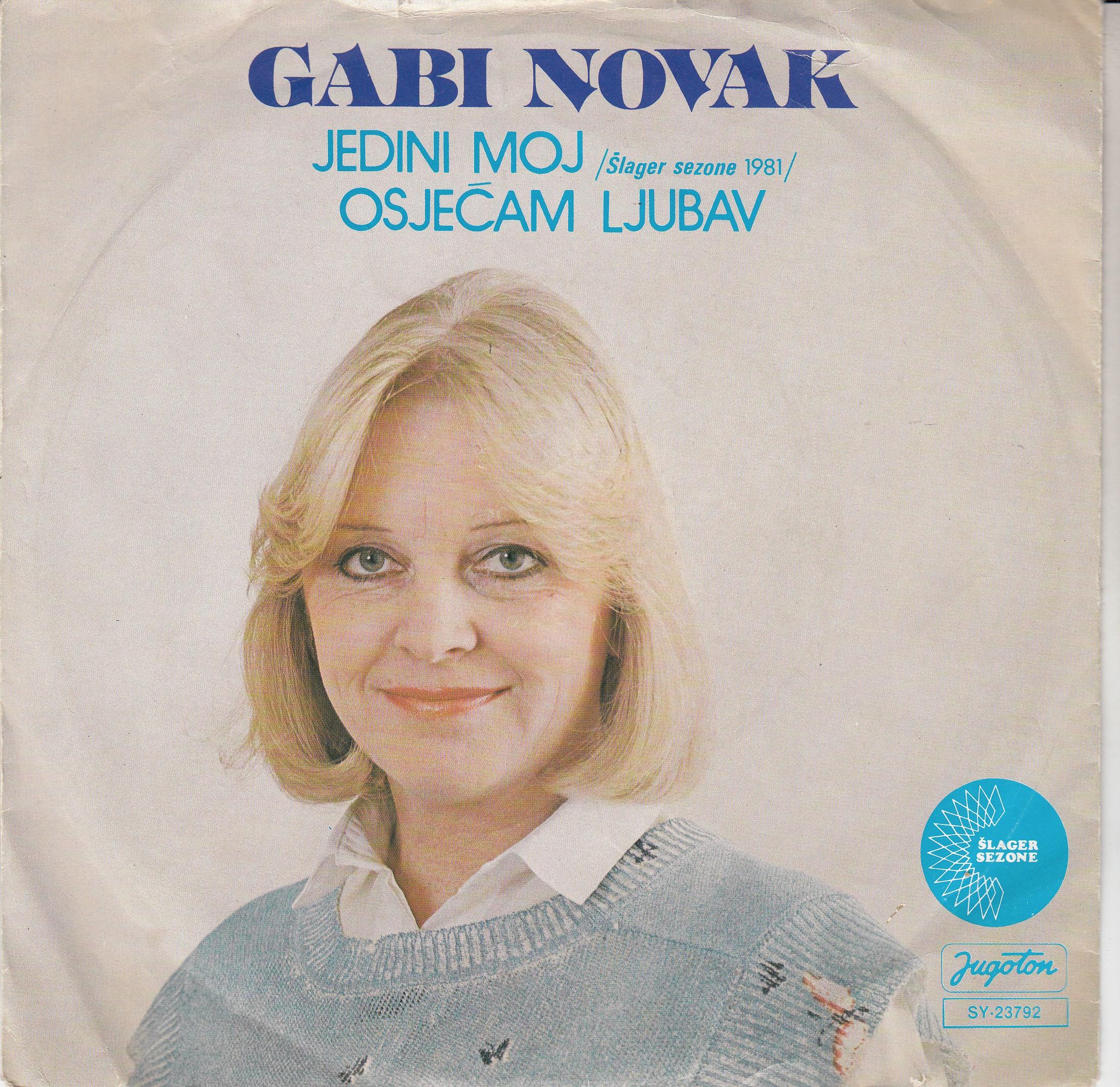 Novak Gabi - Jedini Moj/osjecam Ljubav
