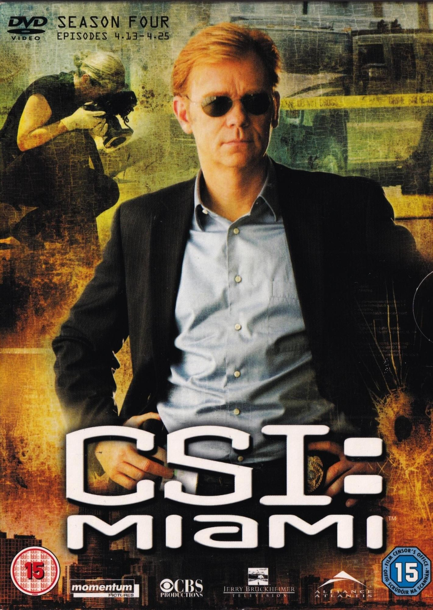 Csi Miami - Season Four Episodes 13-25 - David Caruso