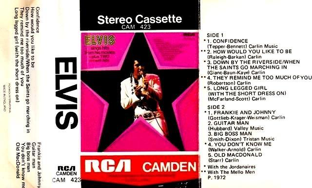 Presley Elvis - Elvis Sing Hits From His Movies