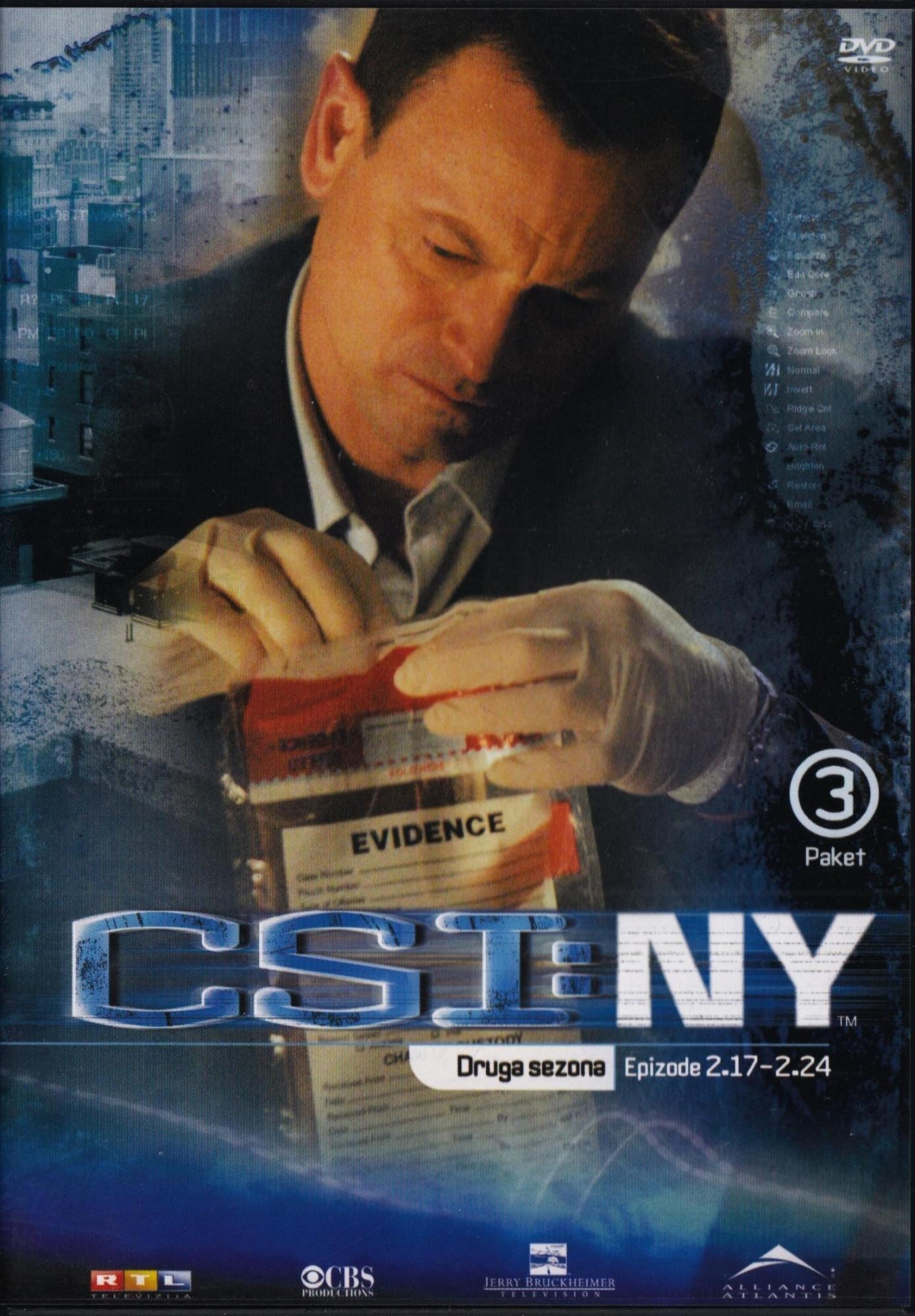 Csi New York - Druga Sezona - Epizode 17-24 - Gary Sinise