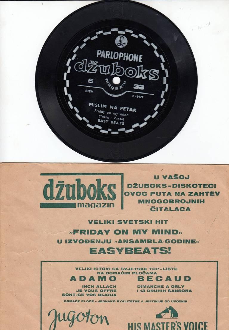 Easybeats - Mislim Na Petak - Friday On My Mind