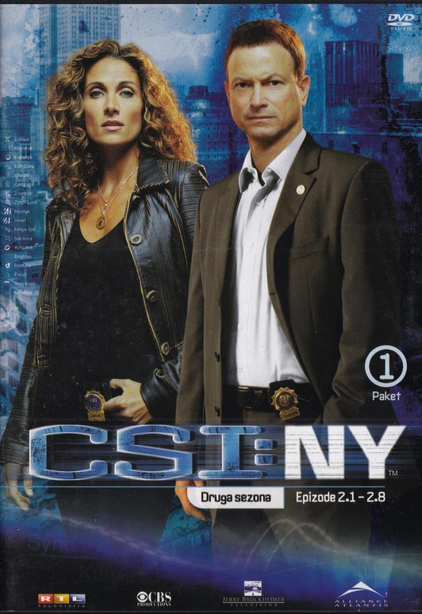 Csi New York - Druga Sezona - Epizode 1-8 - Gary Sinise