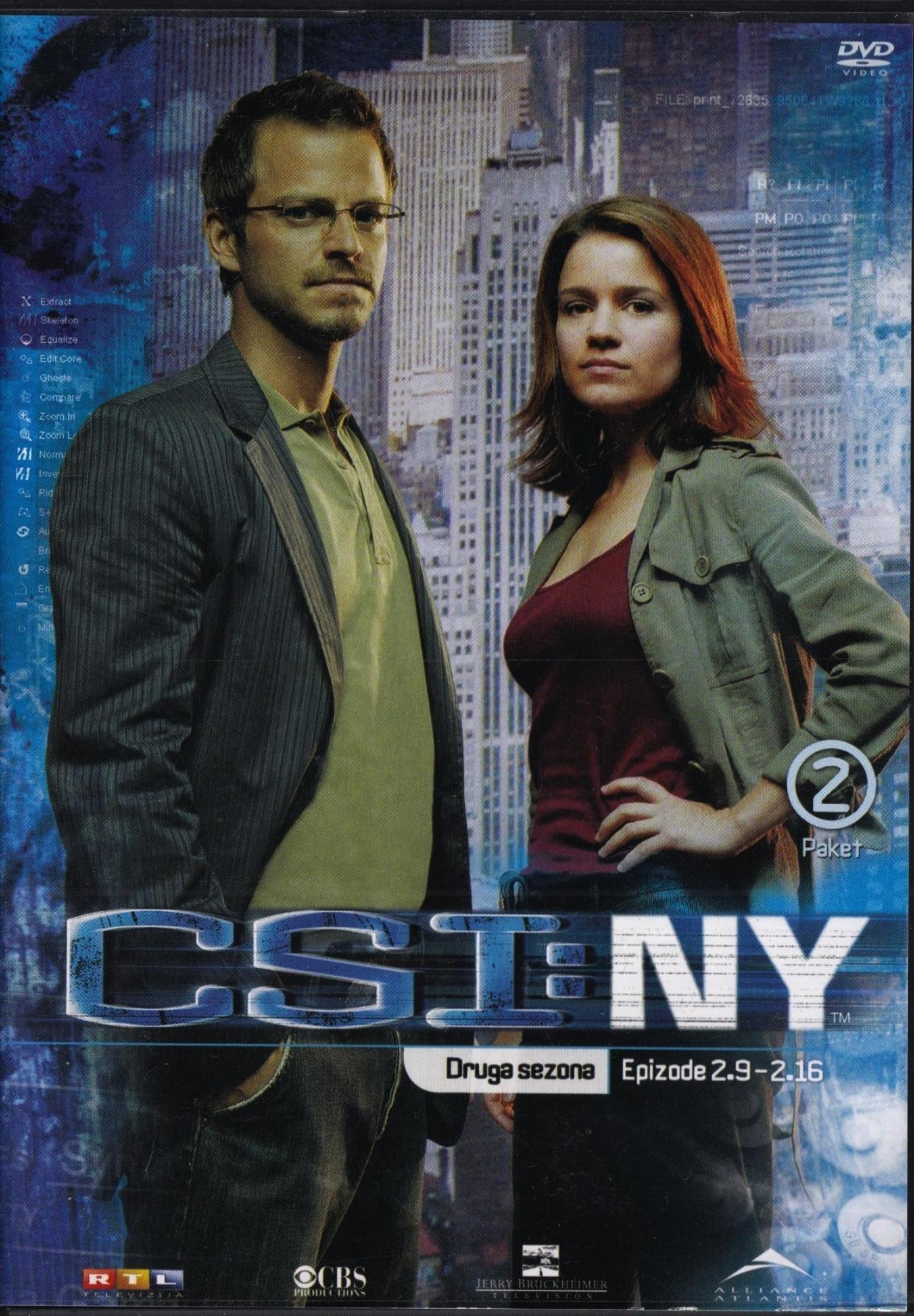 Csi New York - Druga Sezona - Epizode 9-16 - Gary Sinise