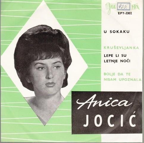Duet Milosevic-Tanasijevic Anica Jocic - U Sokaku/krusevljanka/lepe Li Su Letnje Noci/bolje Da Te Nisam Upoznala