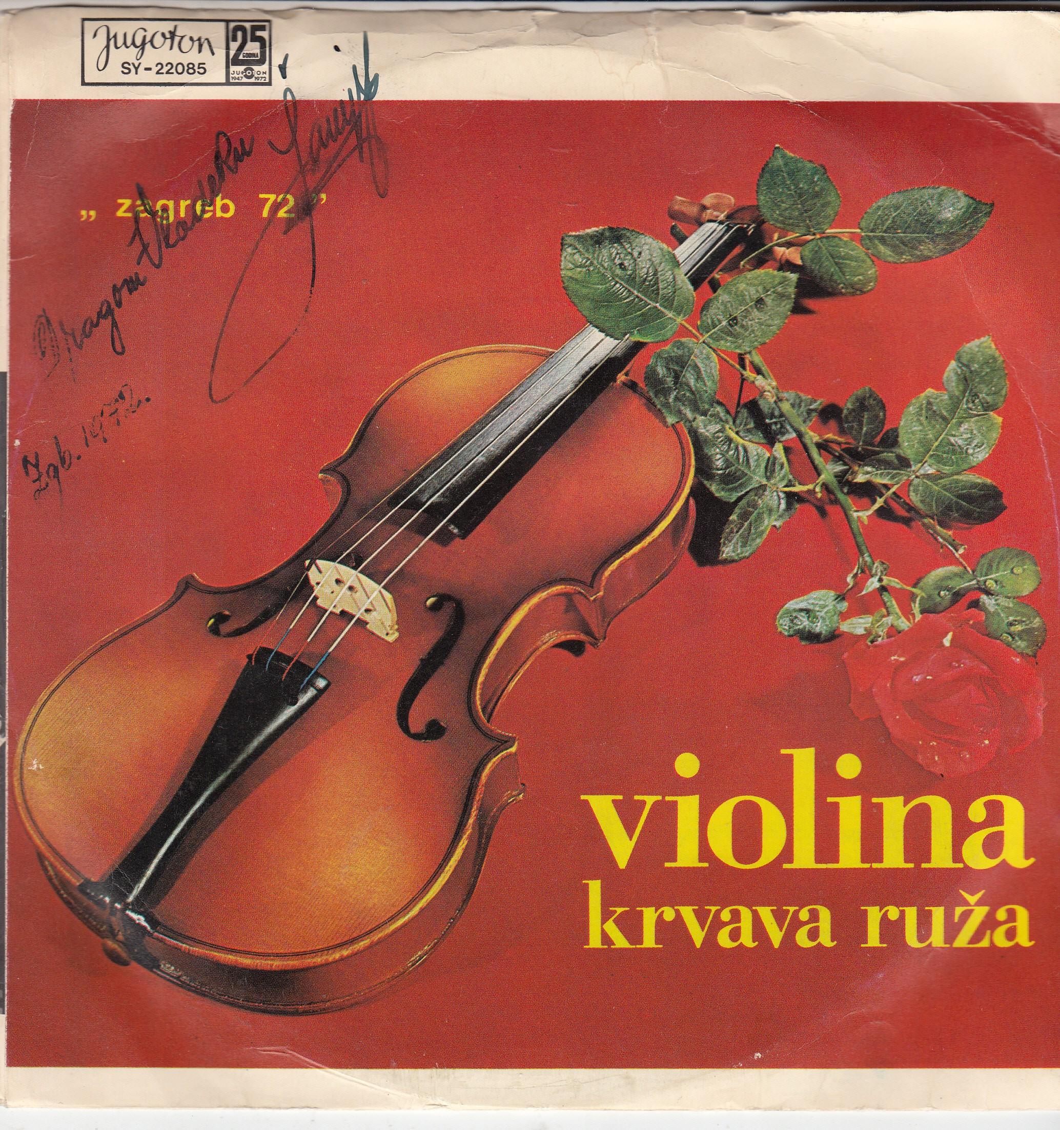 Bacic Milan/nandor Nikolic/aleksandar Sanyi Ujhelyi - Violina/krvava Ruza