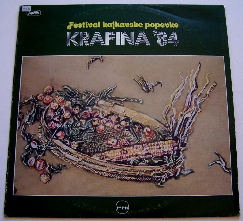 Various Artists - Krapina 1984 - Festival Kajkavske Popevke Kico/vkorbar/gabi Arsen Etc