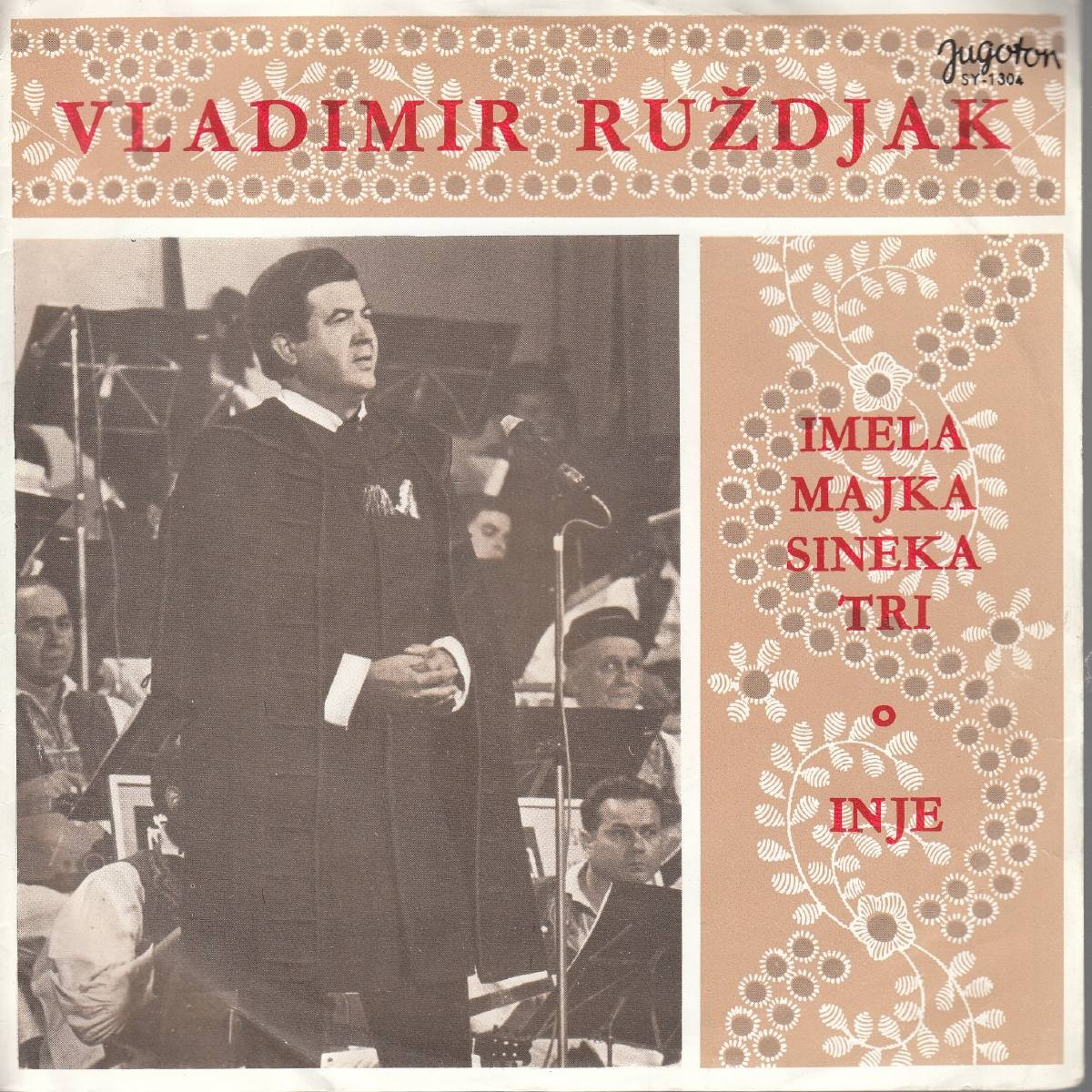 Ruzdjak Vladimir - Imela Majka Sineka Tri/inje