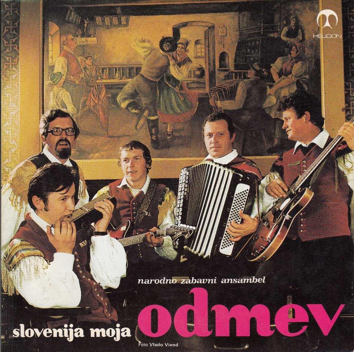 Narodno Zabavni Ansambl odmev - Slovenija Moja/ples Metuljev