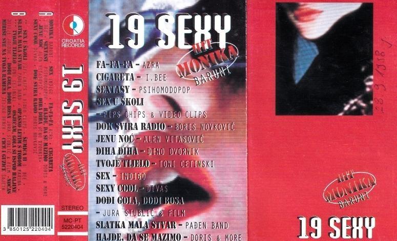 Various Artists - 19 Sexy Azra I Bee Psihomodo Pop