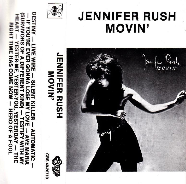 Rush Jennifer - Movin