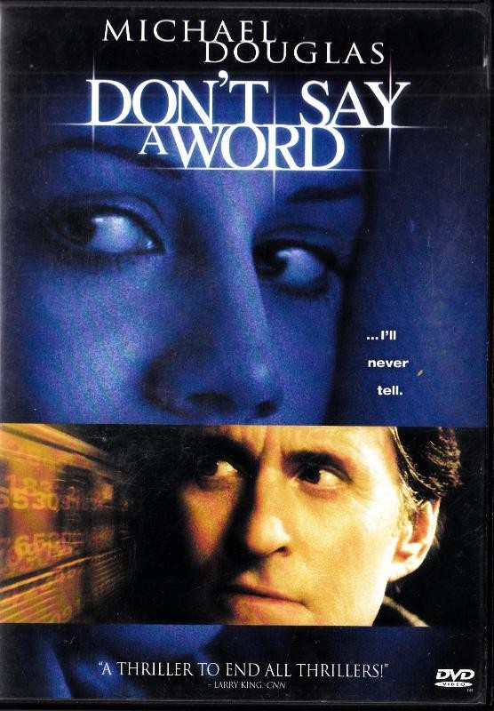 Dont Say A Word - Nema Hrvatski Title - Michael Douglas
