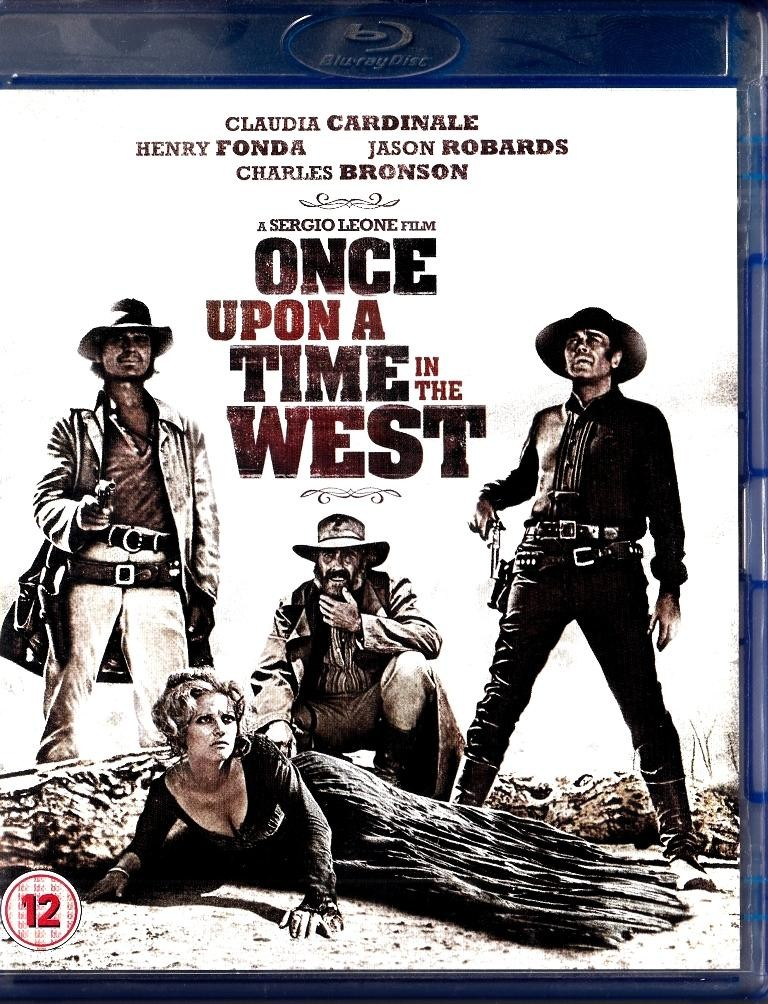 Once Upon Time In The West - Blu-Ray Disc - Nema Hrvatski Title - Claudia Cardinale