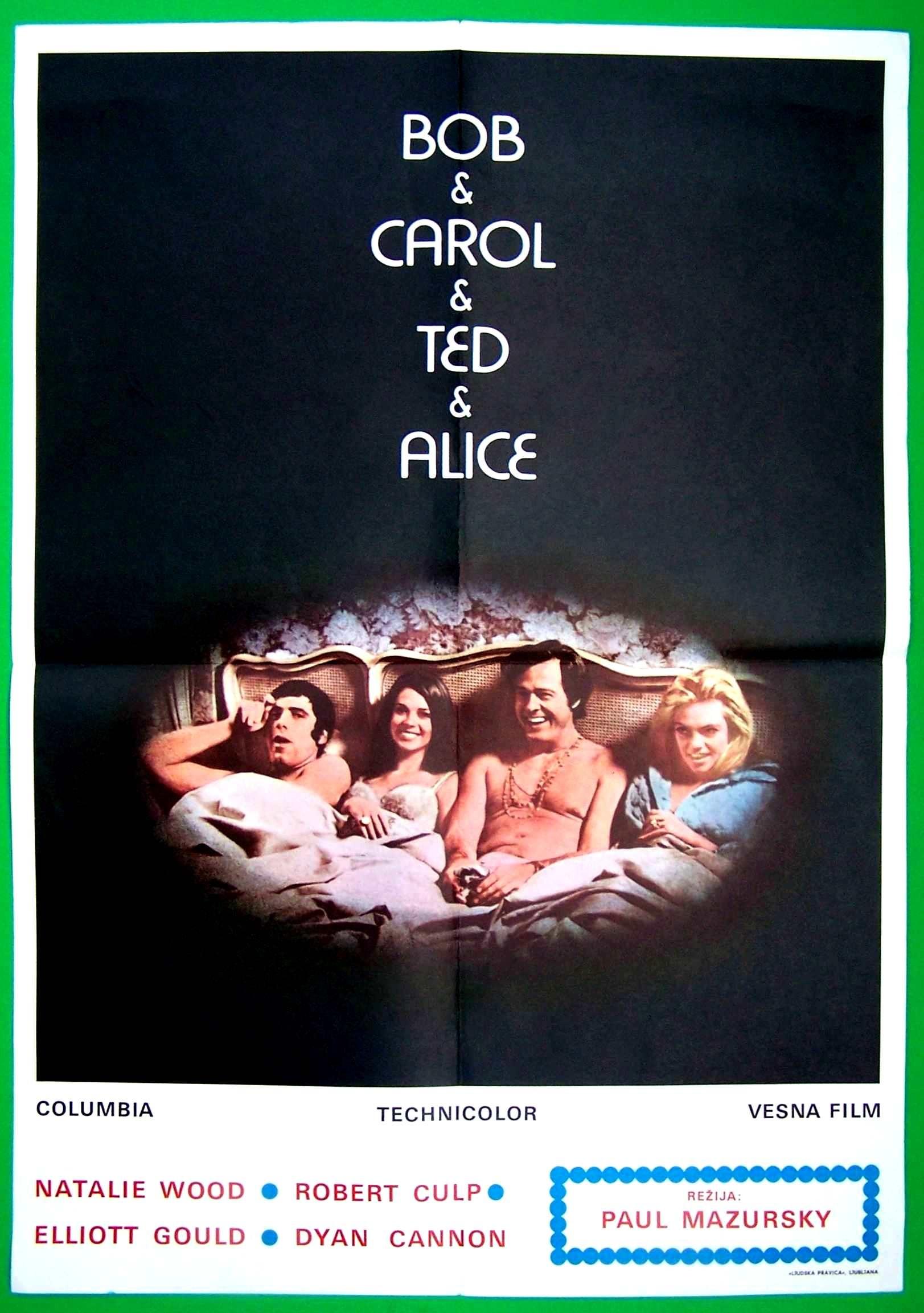 Bob Carol Ted Alice