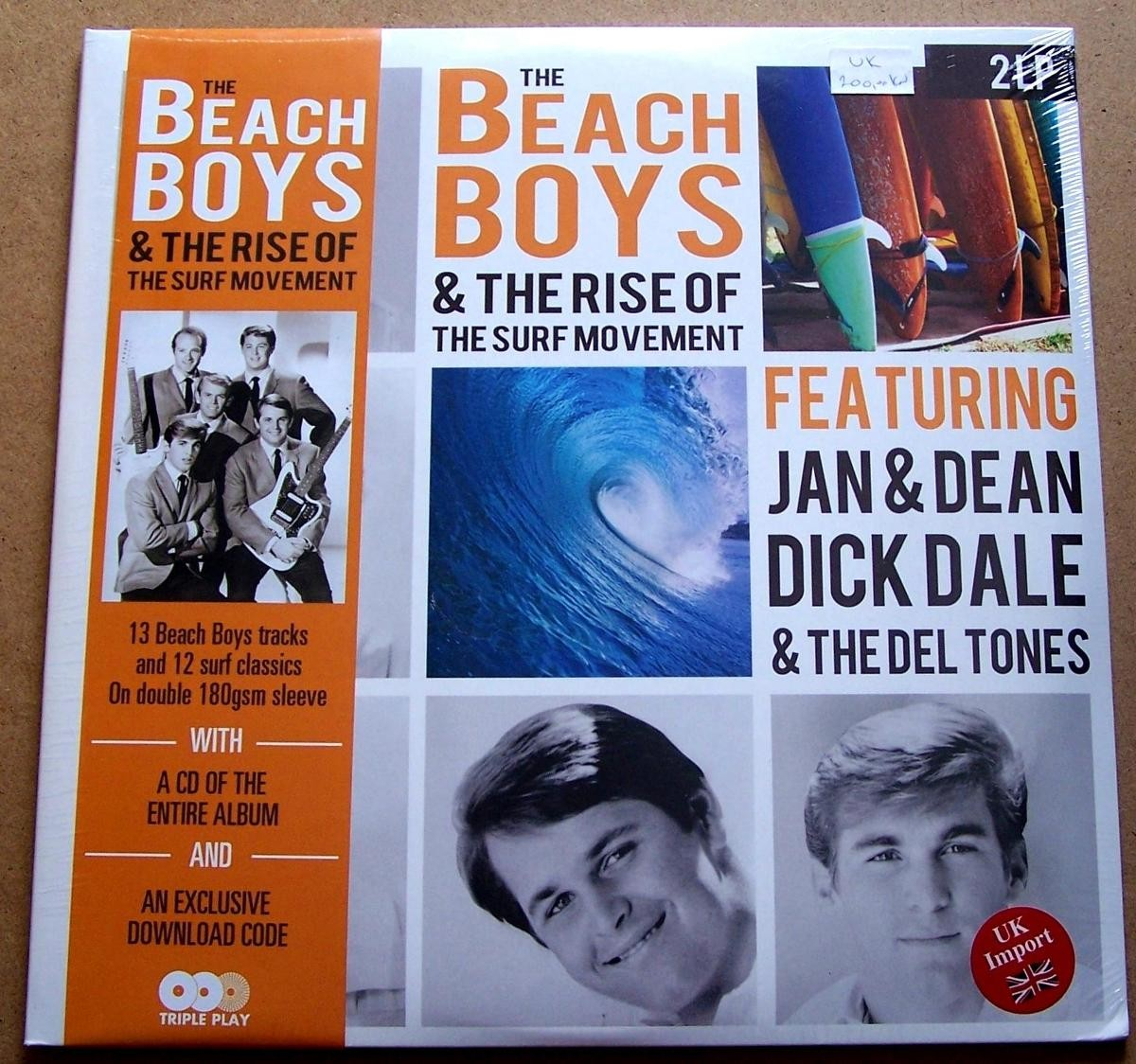 Beach Boys/jan Dean/dick Dale The Del Tones - Beach Boys The Rise Of The Surf Movement