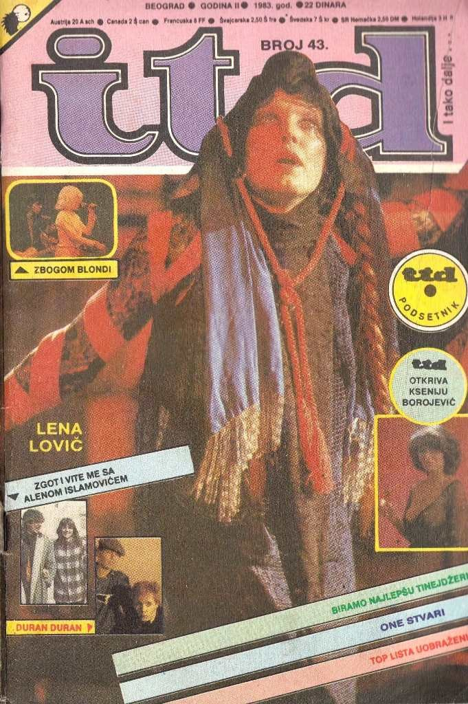 Itd Br 043/lene Lovich-The Clash-Simple Minds