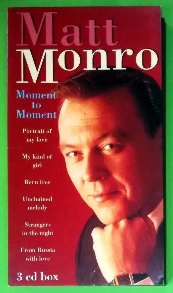 Monro Matt - Moment To Moment - 3 Cd Box Set