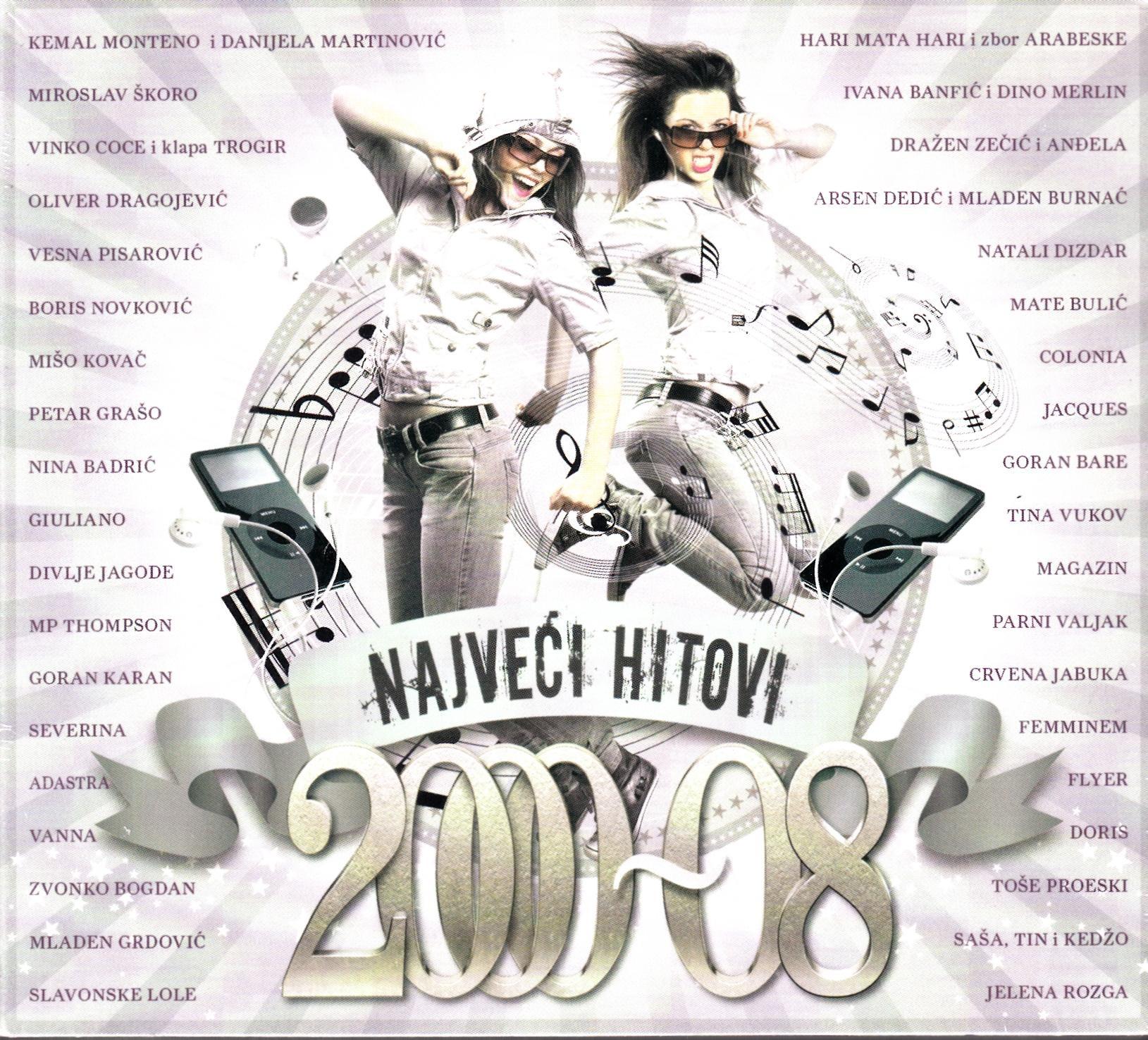 Various Artists - Najveći Hitovi 2000 - 2008 Škoro Oliver Divlje Jagode