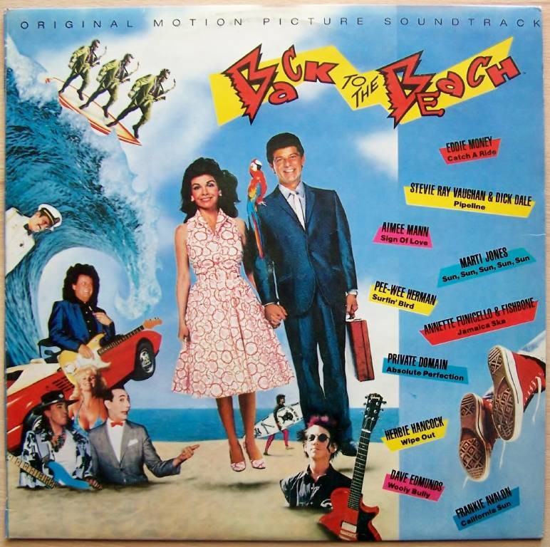 Various Artists - Back To The Beach Emoney/srvaughan/amann Etc