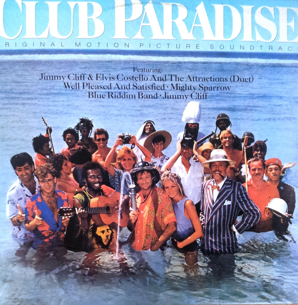 Soundtrack - Club Paradise Jcliff/ecostello/mighty Sparrow Etc