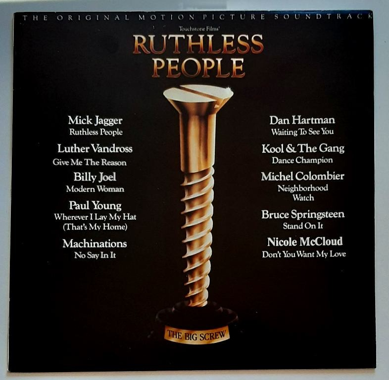Soundtrack - Ruthless People Mjagger/bspringsteen/bjoel/kool The Gang Etc