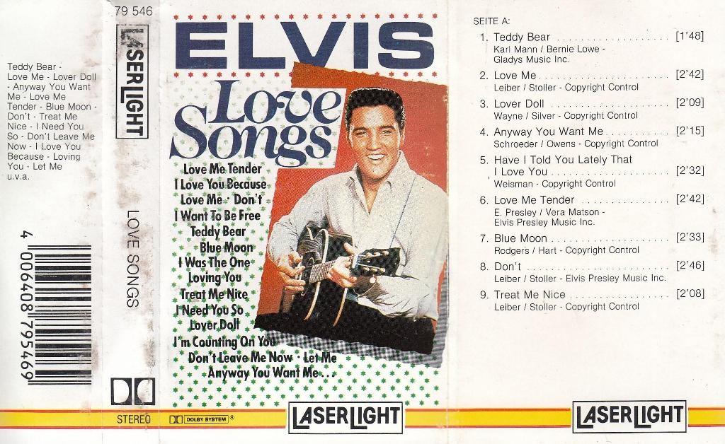 Presley Elvis - Love Songs