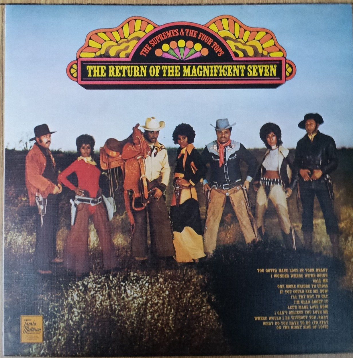 Supremes Four Tops - Return Of The Magnificent Seven The