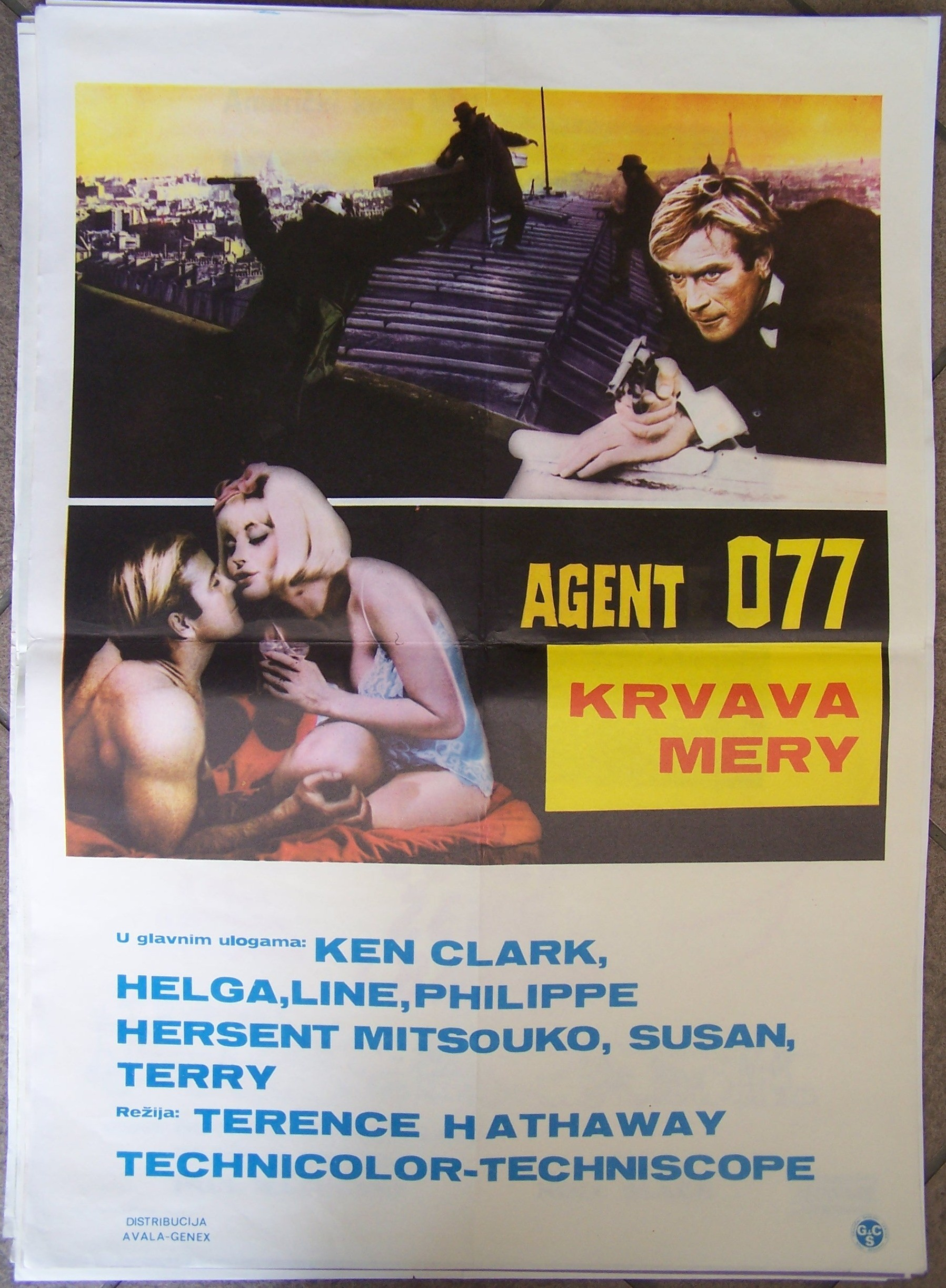 Agent 077 Krvava Mery