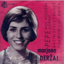 Derzaj Marjana Ljubljanski Jazz Ansambl Vokalni Kvartet Optimisti - Pepe/moj Pozdrav Ljubavi/basin Street Blues/flameco-Rock