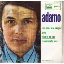 Adamo - Une Larme Aux Nuages/vivre/historie De Clou/mademoiselle Vous