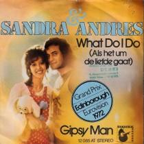 Sandra Andres - What Do I Do/gipsy Man