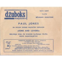 Jones Paul Ex-Manfred Mann - Sons And Lovers Sinovi I Ljubavnici