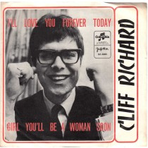 Richard Cliff - Ill Love You Forever Today/girl Youll Be A Woman Soon